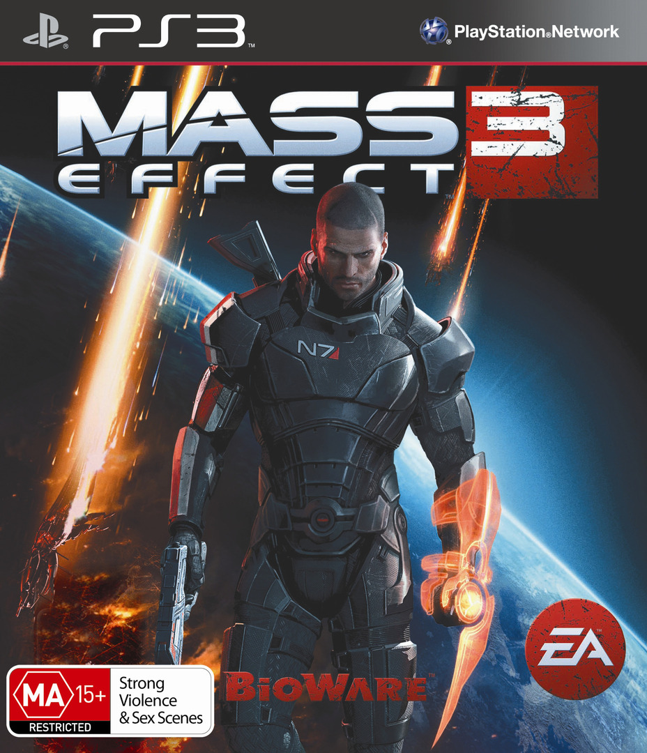 Mass Effect 3 Array coverHQ (BLES01462)