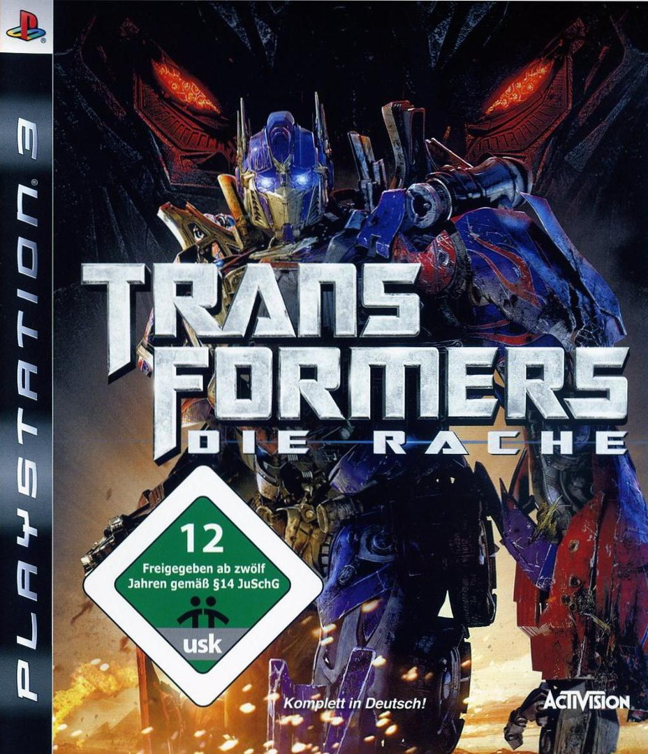 Transformers: Die Rache PS3 coverHQ (BLES00577)