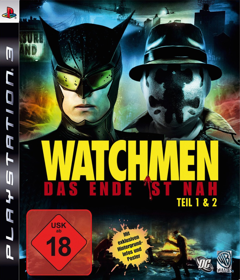 Watchmen: Das Ende Ist Nah - Tail 1&2 PS3 coverHQ (BLES00605)