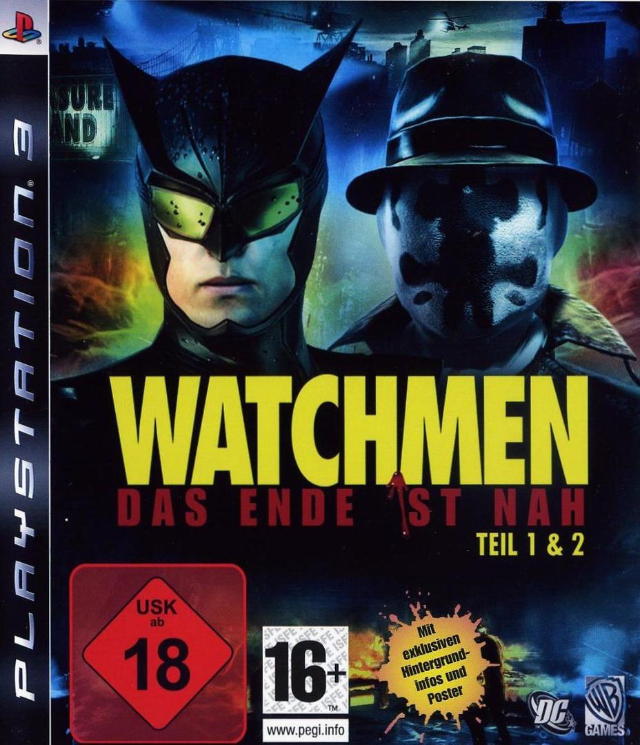 Watchmen: Das Ende Ist Nah - Tail 1&2 PS3 coverHQ (BLES00613)