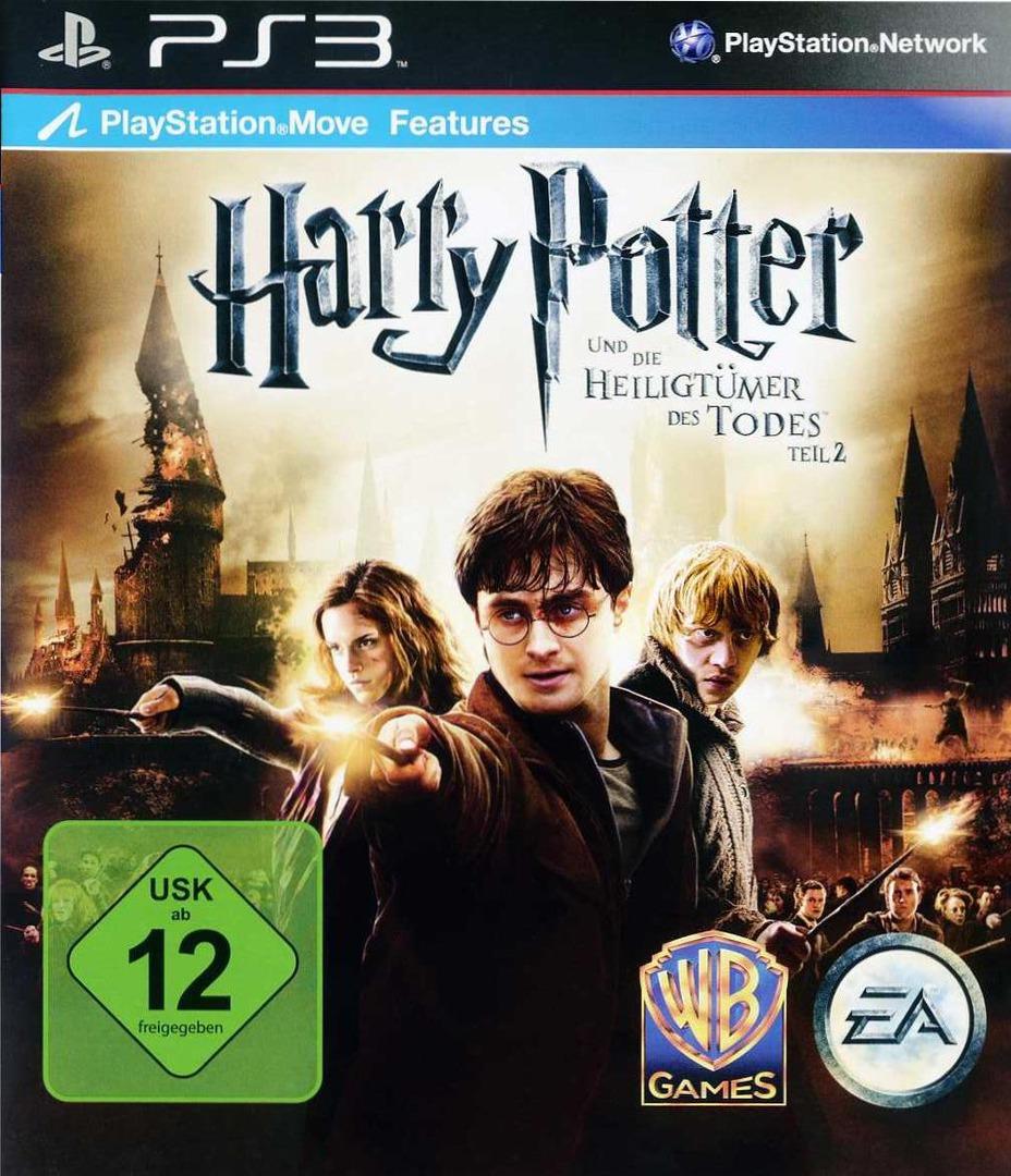 Harry Potter und die Heiligtümer der Todes - Teil 2 PS3 coverHQ (BLES01307)