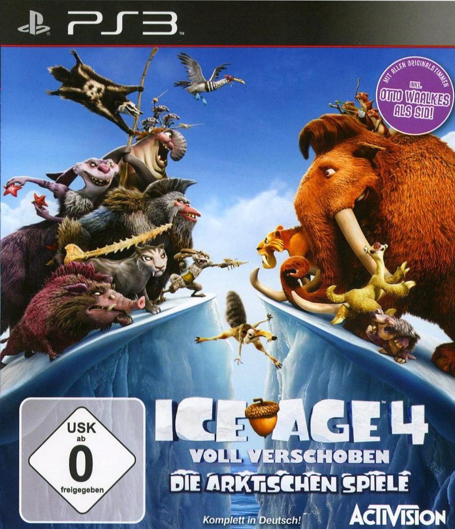 Ice Age 4: Voll Verschoben - Die Arktischen Spiele PS3 coverHQ (BLES01686)