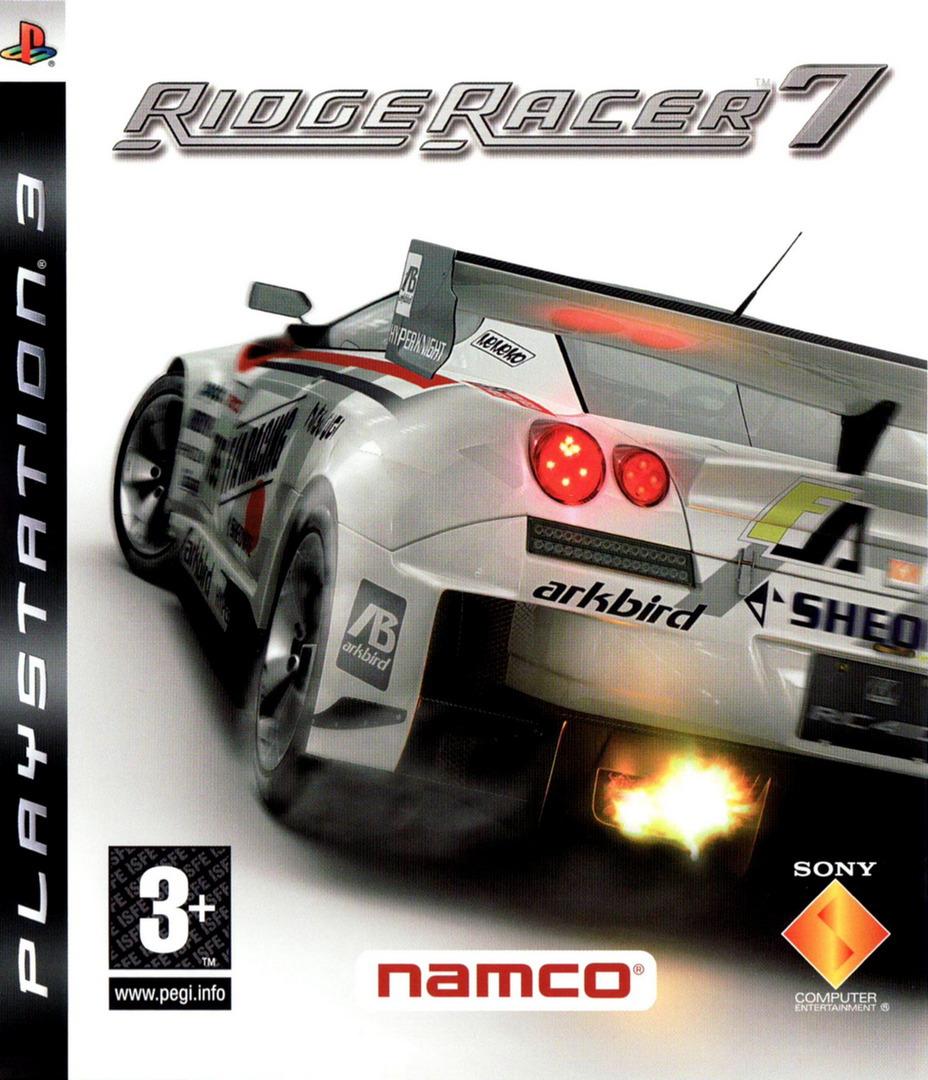 Ridge Racer 7 Array coverHQ (BCES00009)