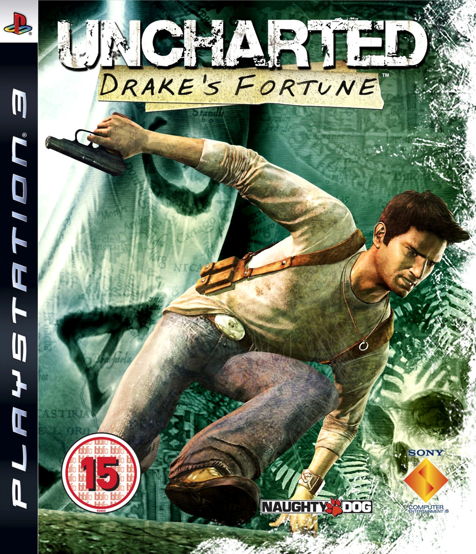 Uncharted: Drake's Fortune PS3 coverHQ (BCES00065)