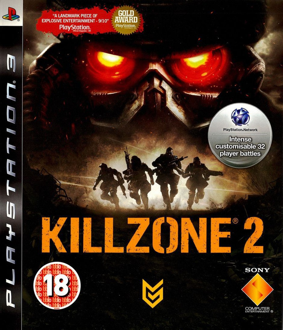 Killzone 2 Array coverHQ (BCES00081)