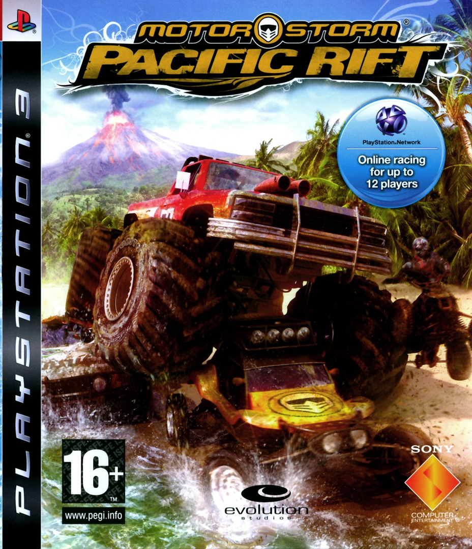 MotorStorm: Pacific Rift PS3 coverHQ (BCES00129)