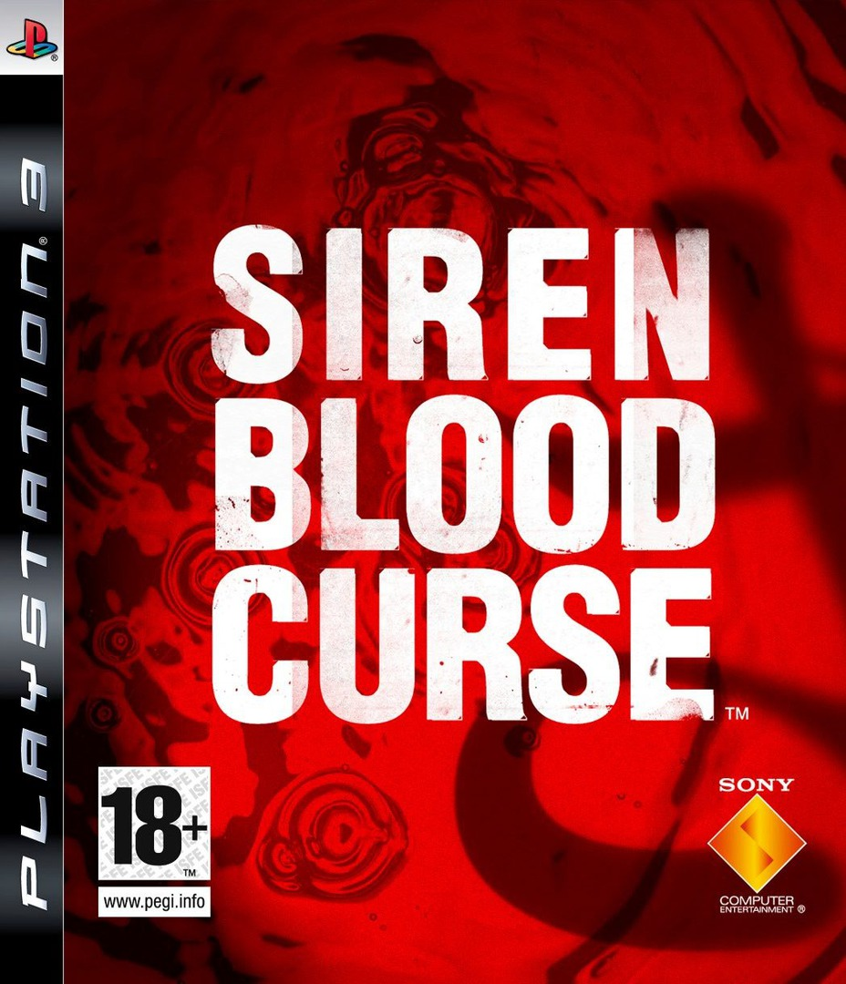 Siren Blood Curse PS3 coverHQ (BCES00294)