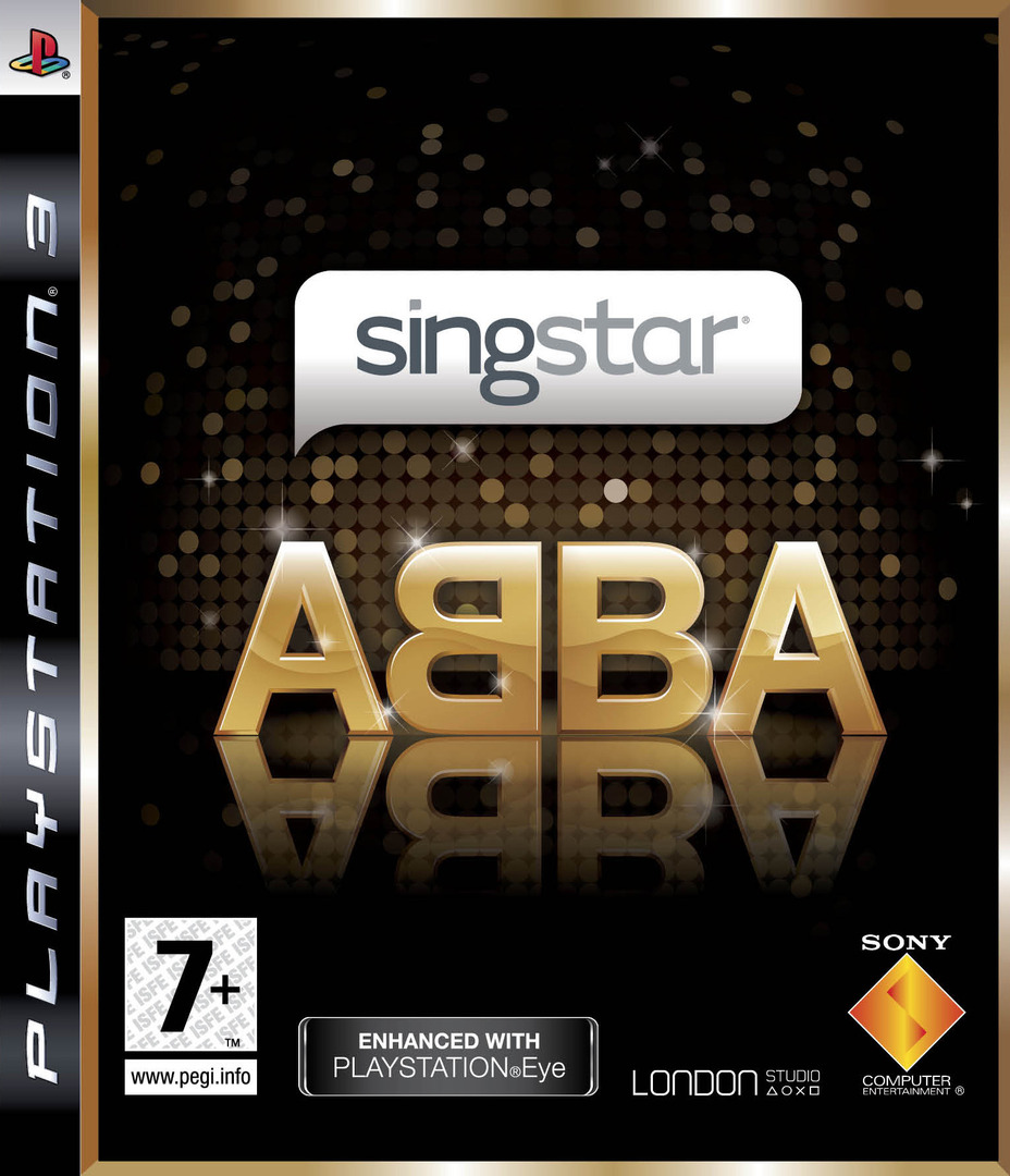 SingStar: ABBA PS3 coverHQ (BCES00381)