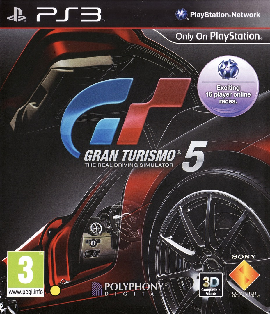 Gran Turismo 5 PS3 coverHQ (BCES00569)