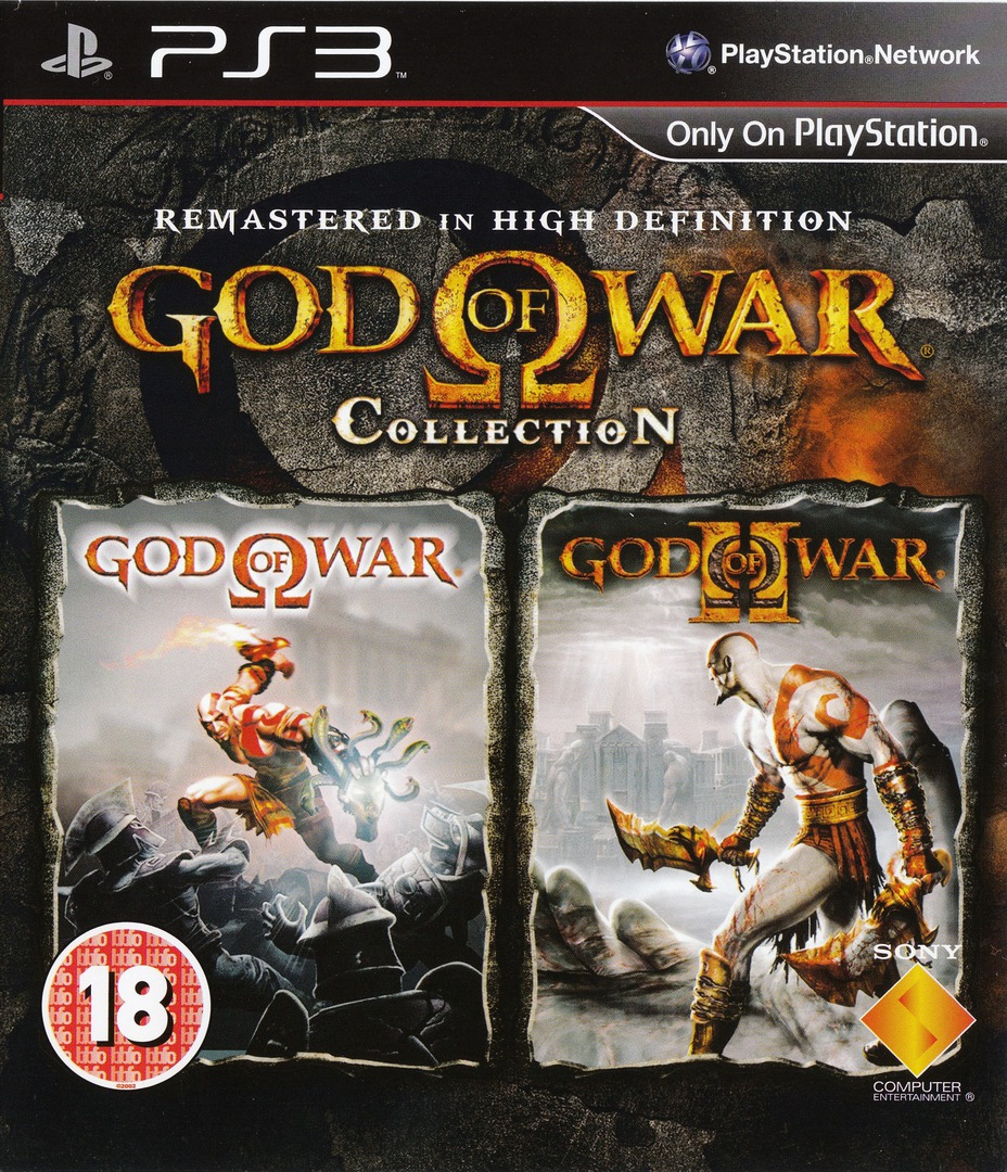 God of War Collection PS3 coverHQ (BCES00800)