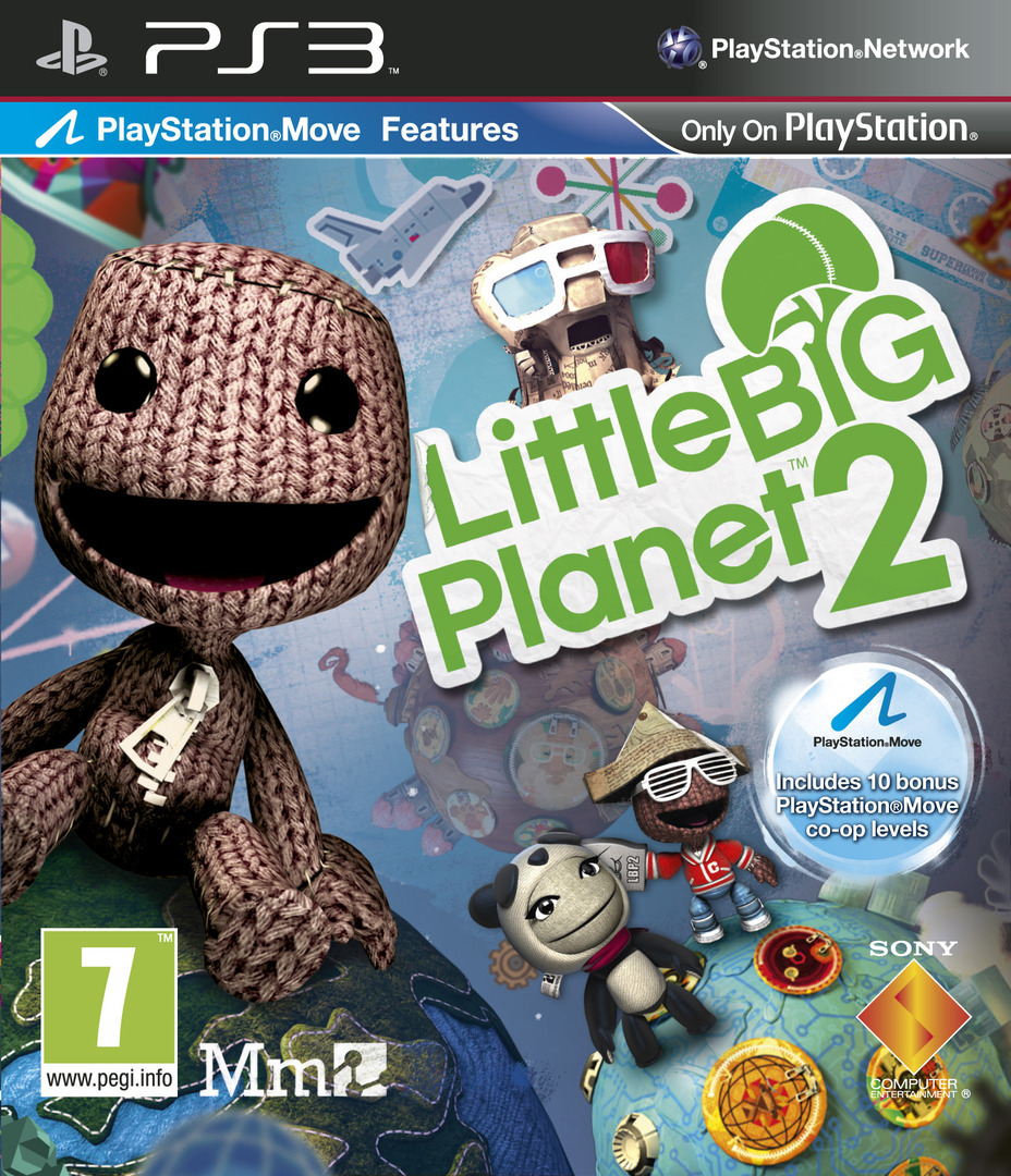 LittleBigPlanet 2 PS3 coverHQ (BCES00850)