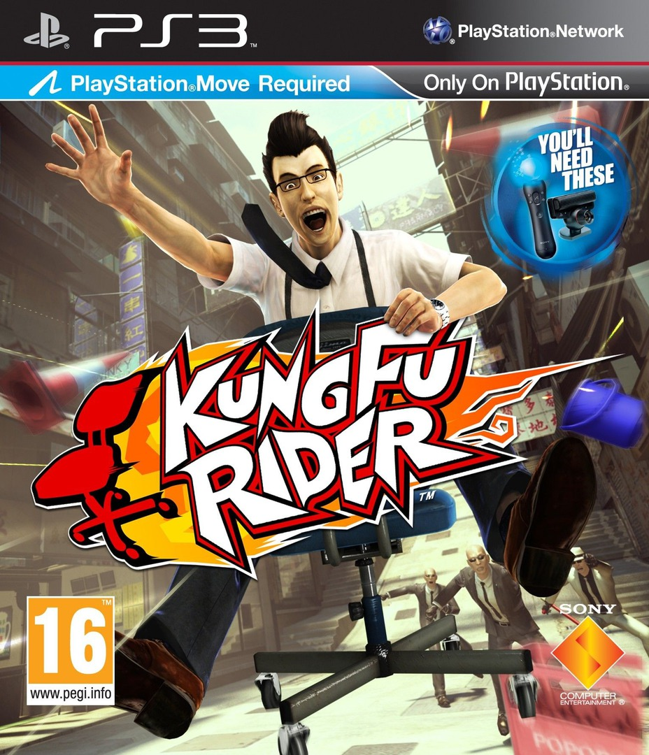 Kung Fu Rider PS3 coverHQ (BCES01029)