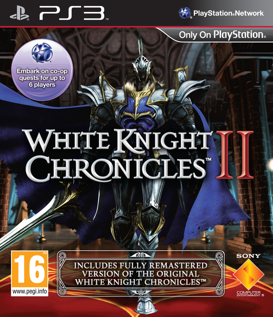 White Knight Chronicles II PS3 coverHQ (BCES01085)