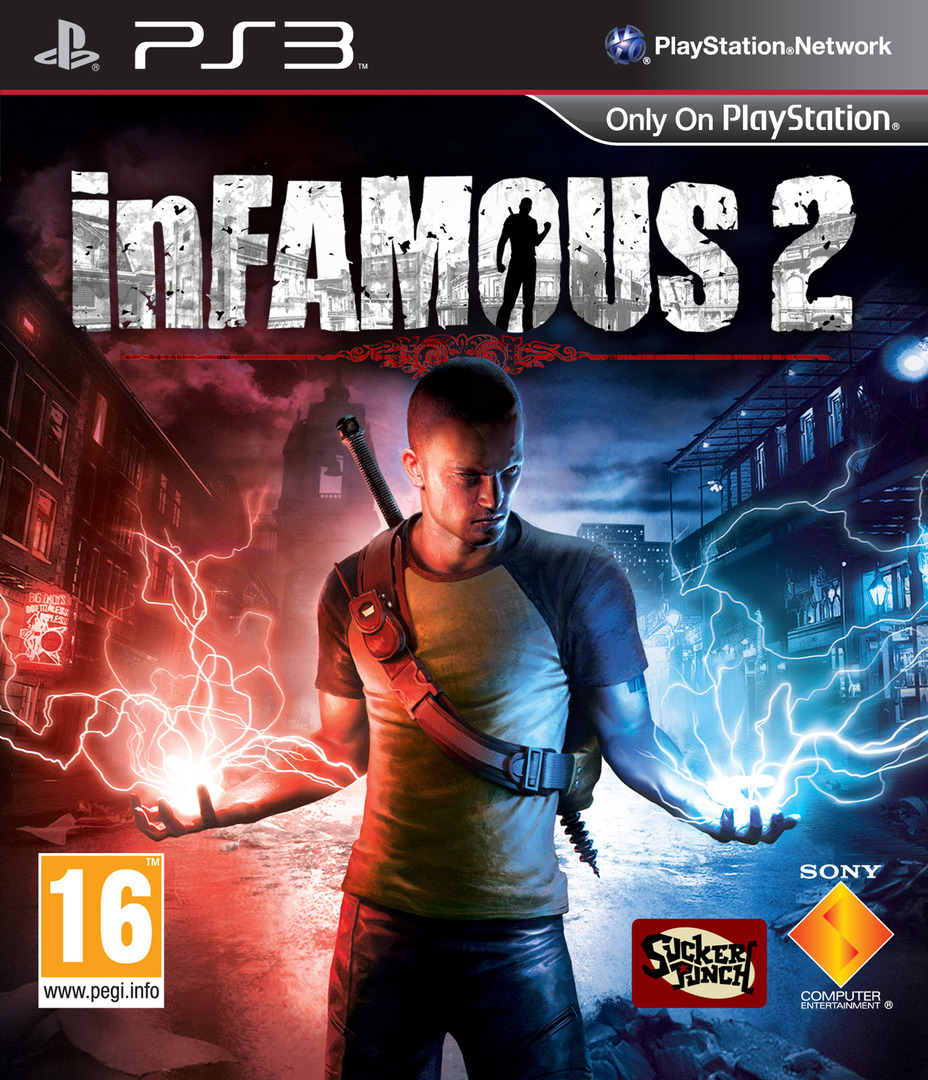 inFamous 2 Array coverHQ (BCES01229)