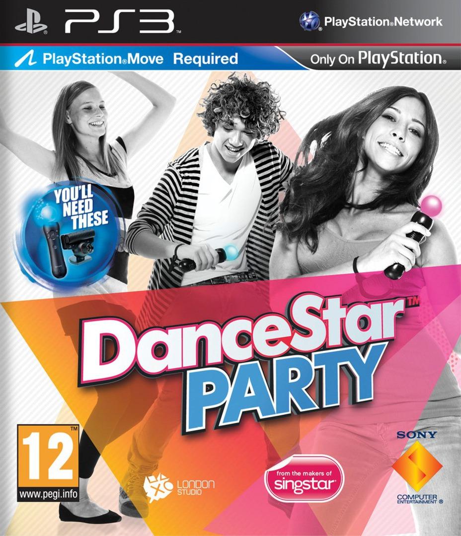 DanceStar Party PS3 coverHQ (BCES01247)