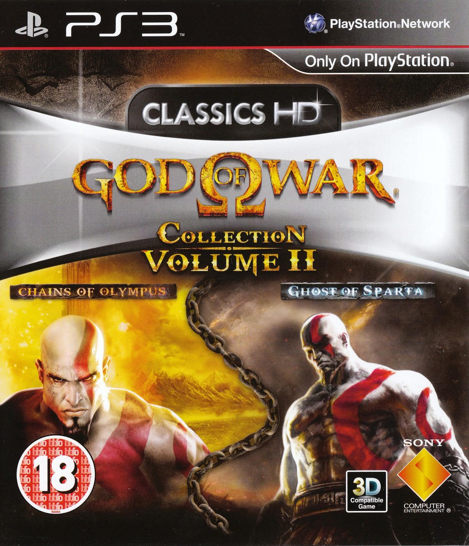 God of War Collection Volume II PS3 coverHQ (BCES01278)
