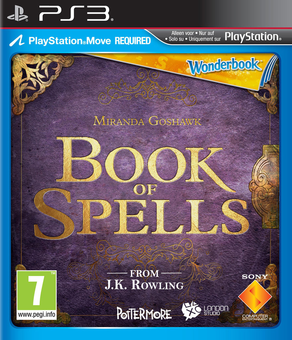 Wonderbook: Book of Spells PS3 coverHQ (BCES01531)
