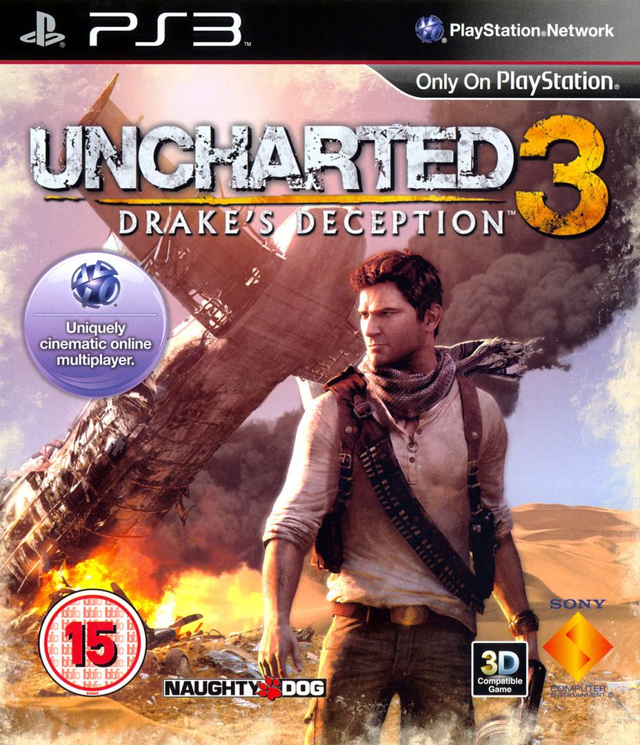 Uncharted 3: Drake's Deception (Game of the Year Edition) PS3 coverHQ (BCES01670)