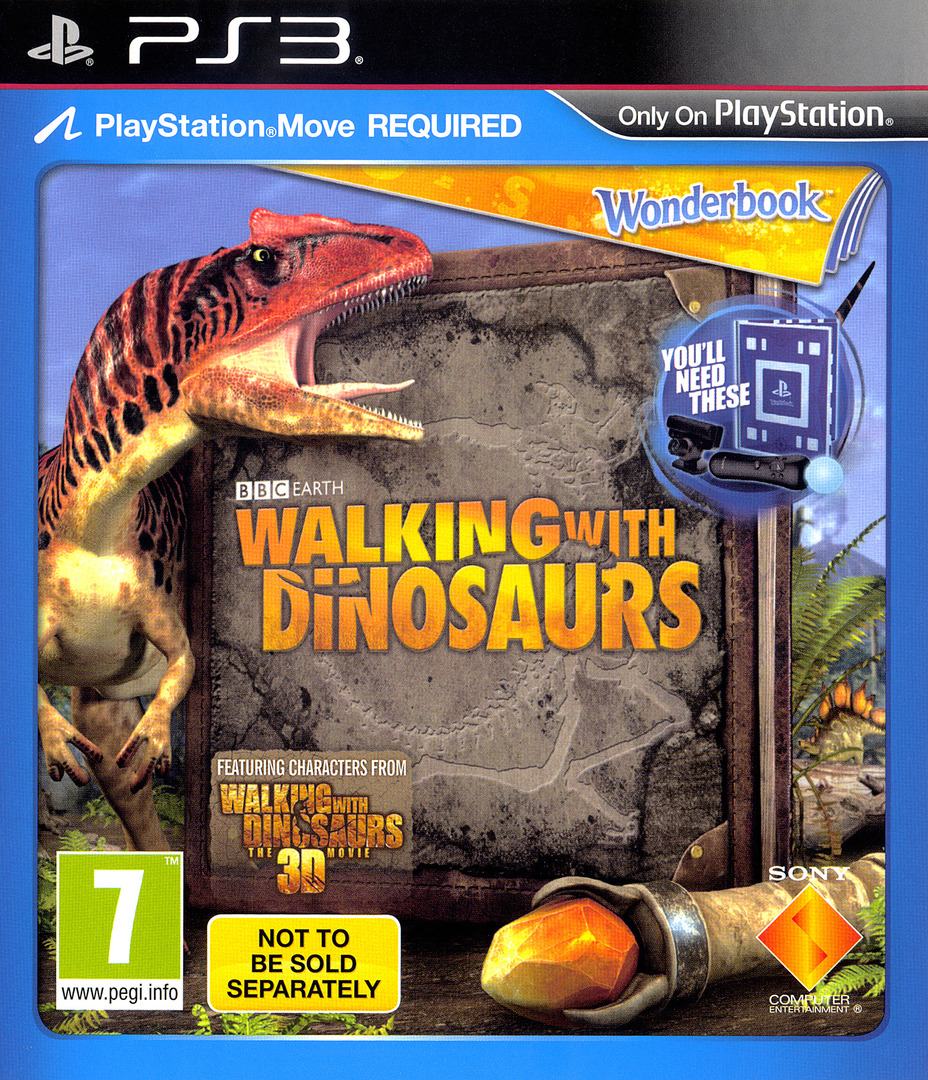 Wonderbook: Walking with Dinosaurs PS3 coverHQ (BCES01953)