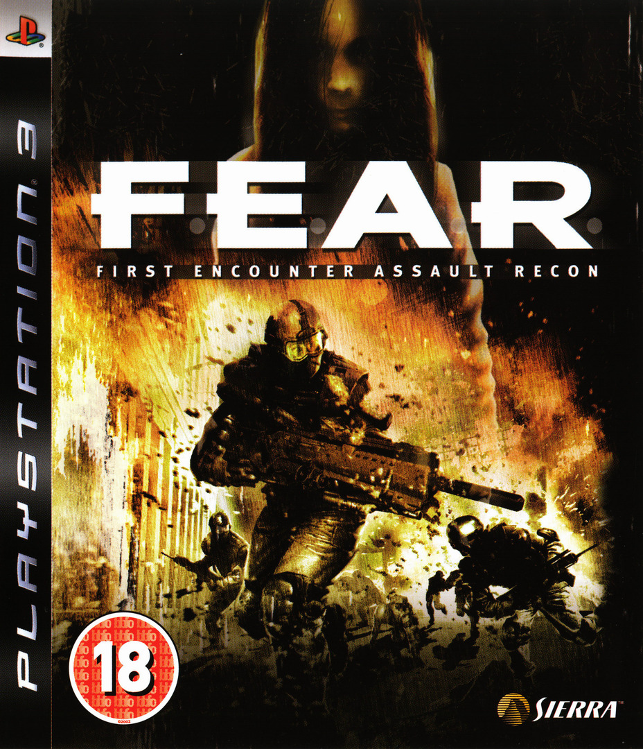 F.E.A.R.: First Encounter Assault Recon PS3 coverHQ (BLES00036)