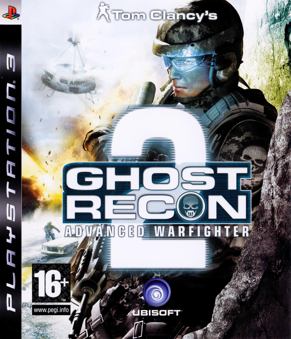 Tom Clancy's Ghost Recon: Advanced Warfighter 2 PS3 coverHQ (BLES00067)