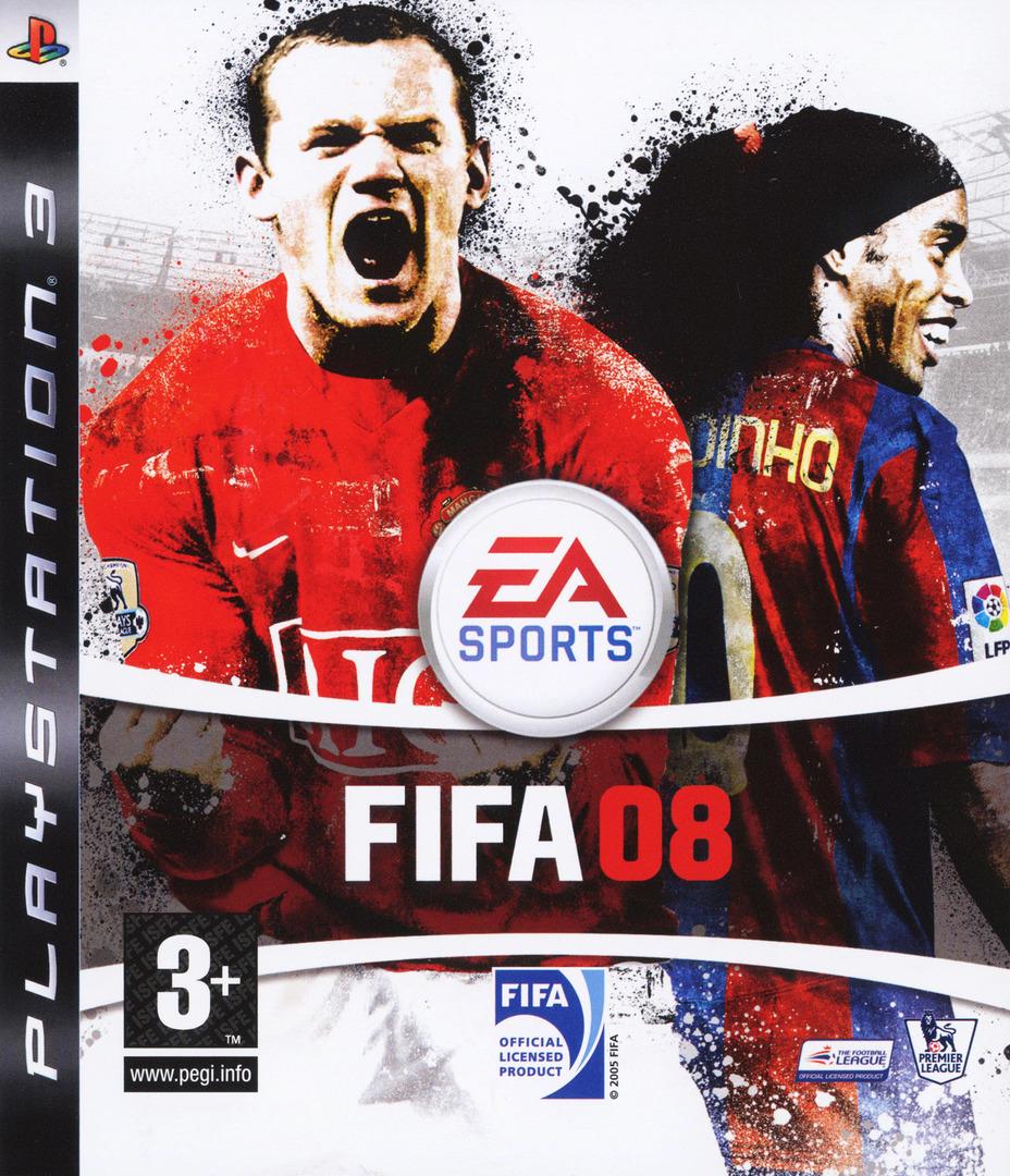FIFA 08 Array coverHQ (BLES00132)