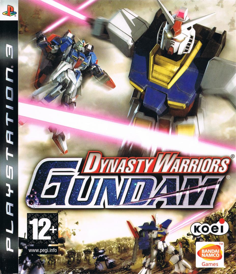 Dynasty Warriors: Gundam PS3 coverHQ (BLES00147)