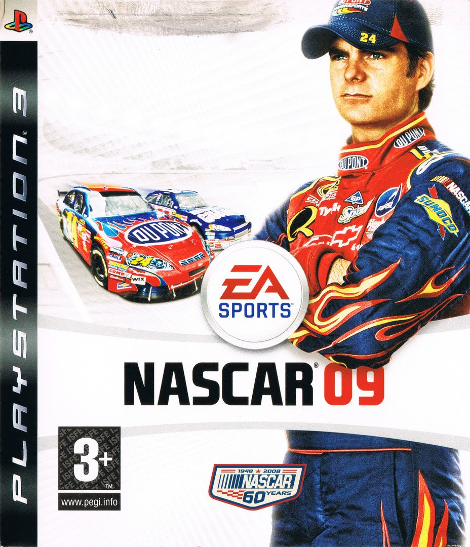 Nascar 09 PS3 coverHQ (BLES00268)