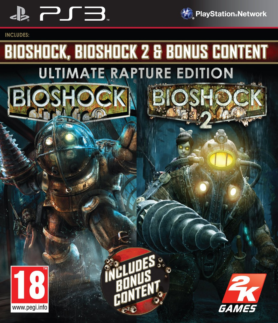 BioShock: Ultimate Rapture Edition PS3 coverHQ (BLES00316)