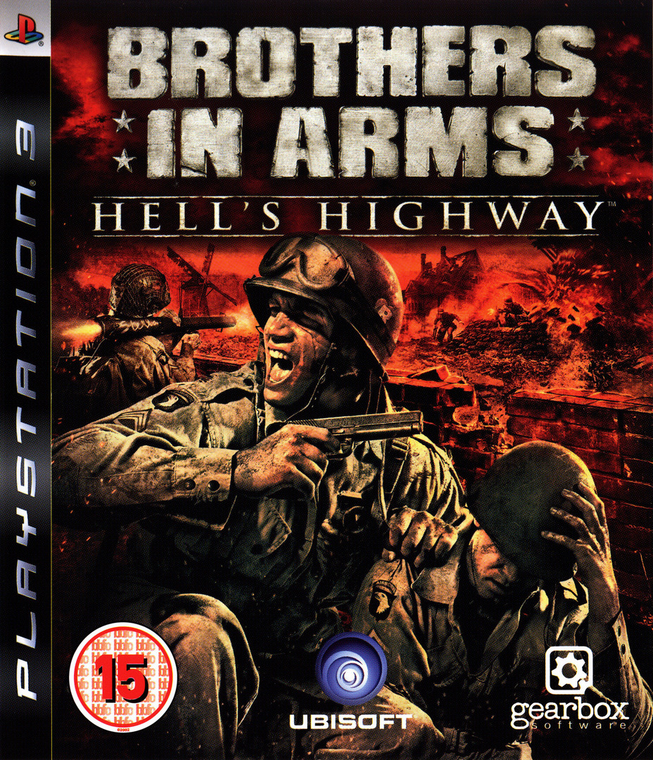 Brothers in Arms: Hell's Highway PS3 coverHQ (BLES00318)