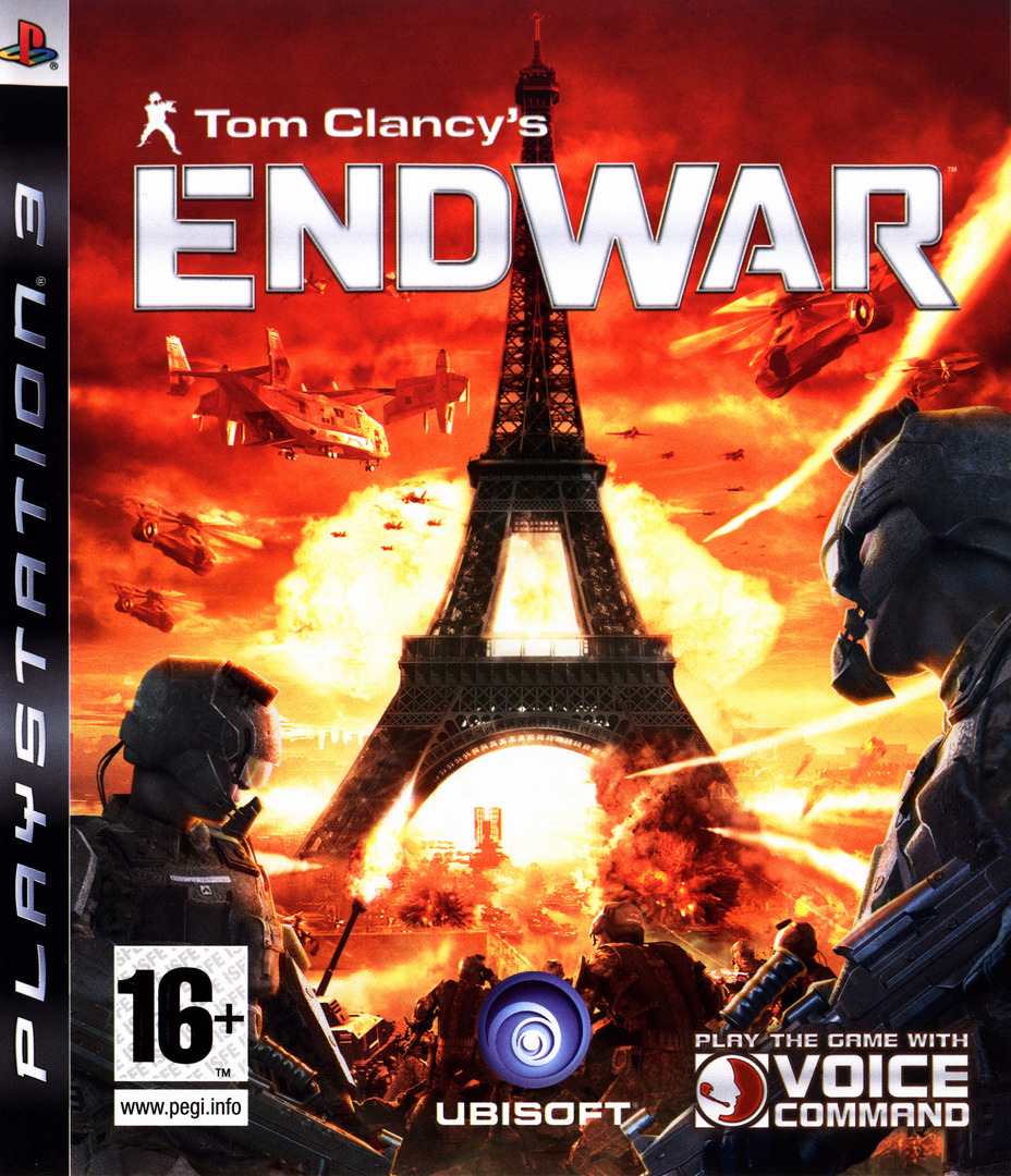 Tom Clancy's EndWar PS3 coverHQ (BLES00326)
