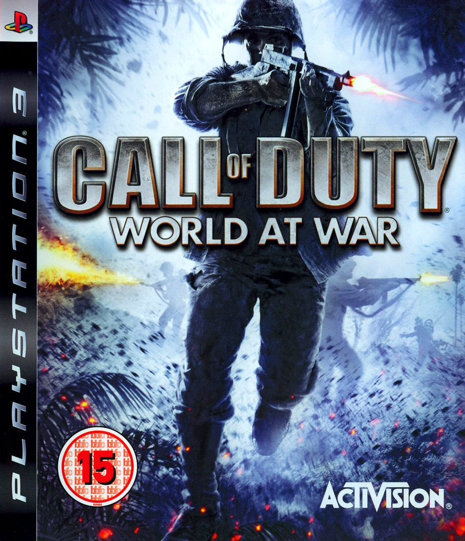 Call of Duty: World at War PS3 coverHQ (BLES00355)
