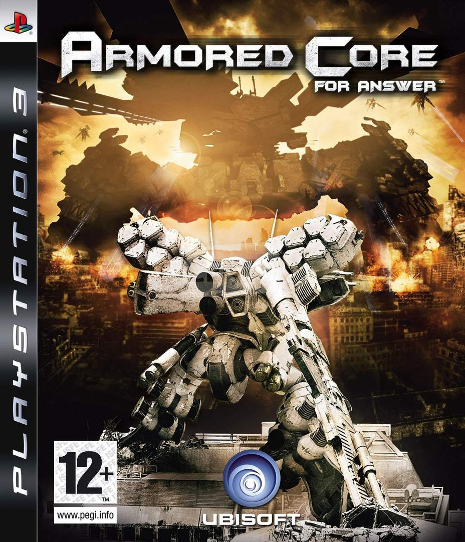 Armored Core: For Answer PS3 coverHQ (BLES00370)