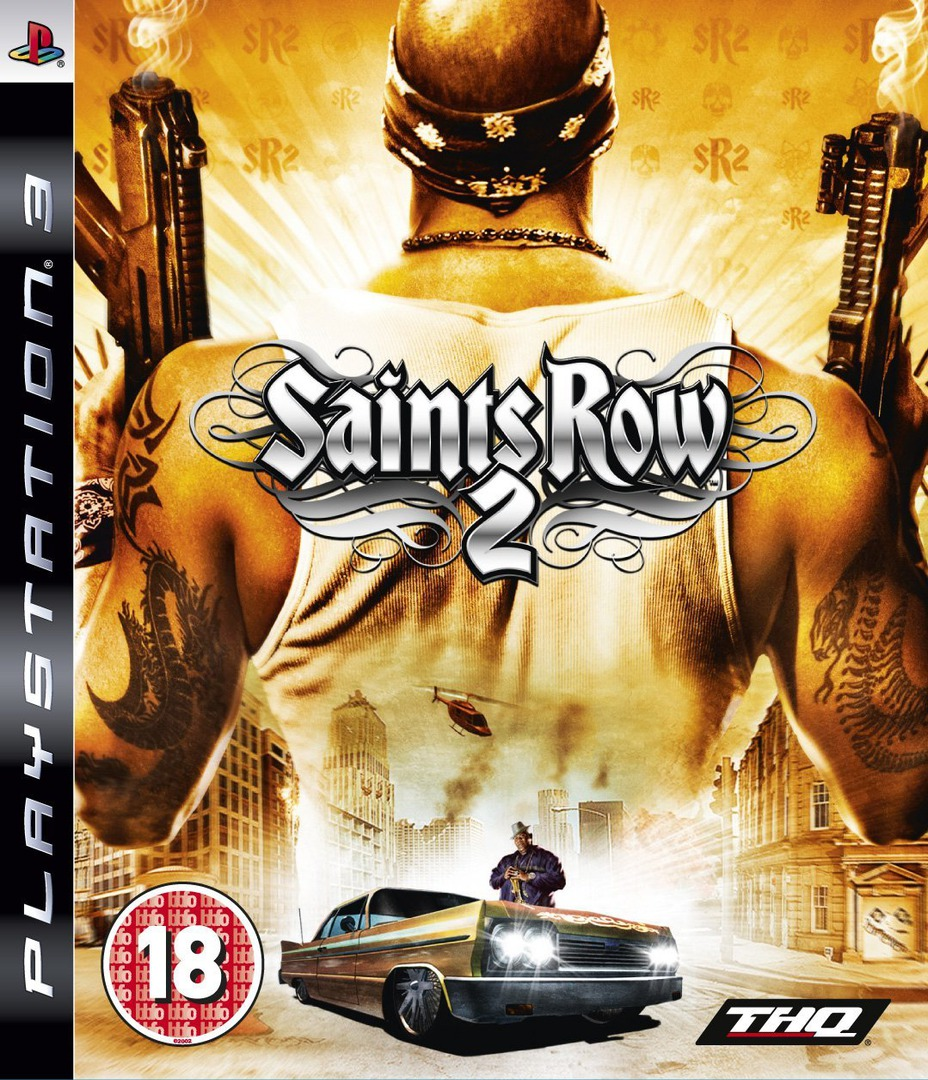 Saints Row 2 PS3 coverHQ (BLES00373)