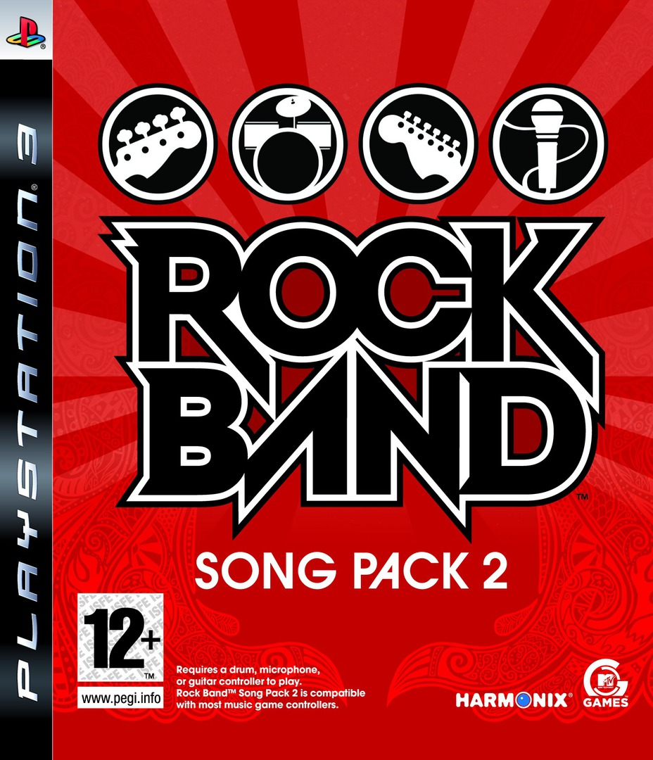 Rock Band Song Pack 2 PS3 coverHQ (BLES00451)