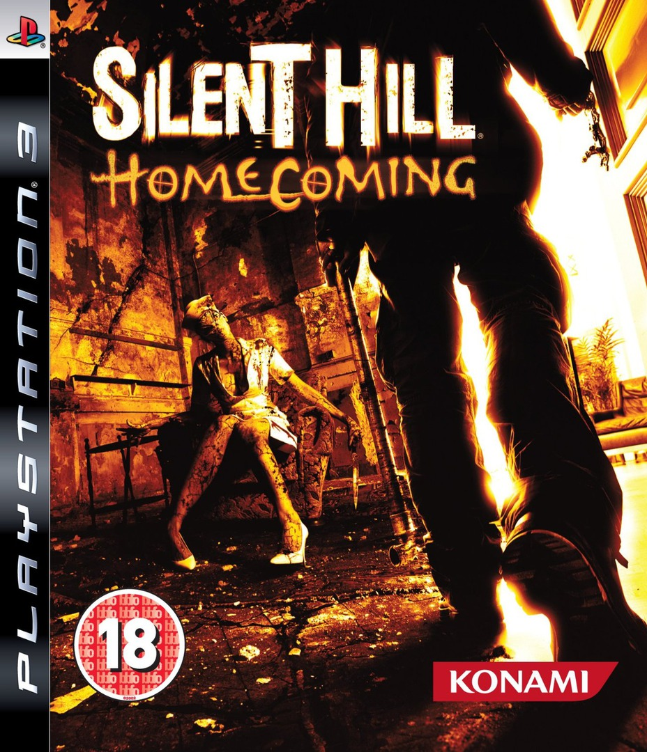 Silent Hill: Homecoming PS3 coverHQ (BLES00460)