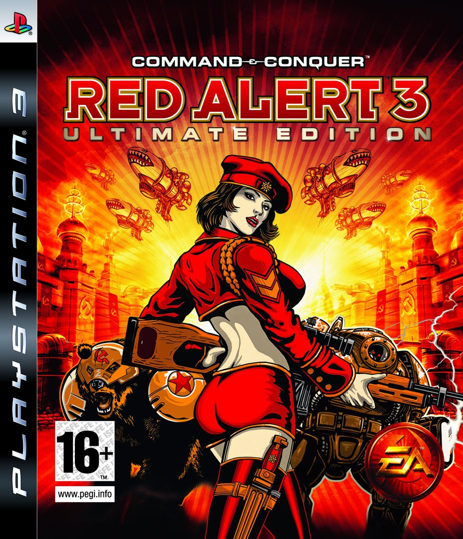 Command & Conquer: Red Alert 3 (Ultimate Edition) PS3 coverHQ (BLES00507)