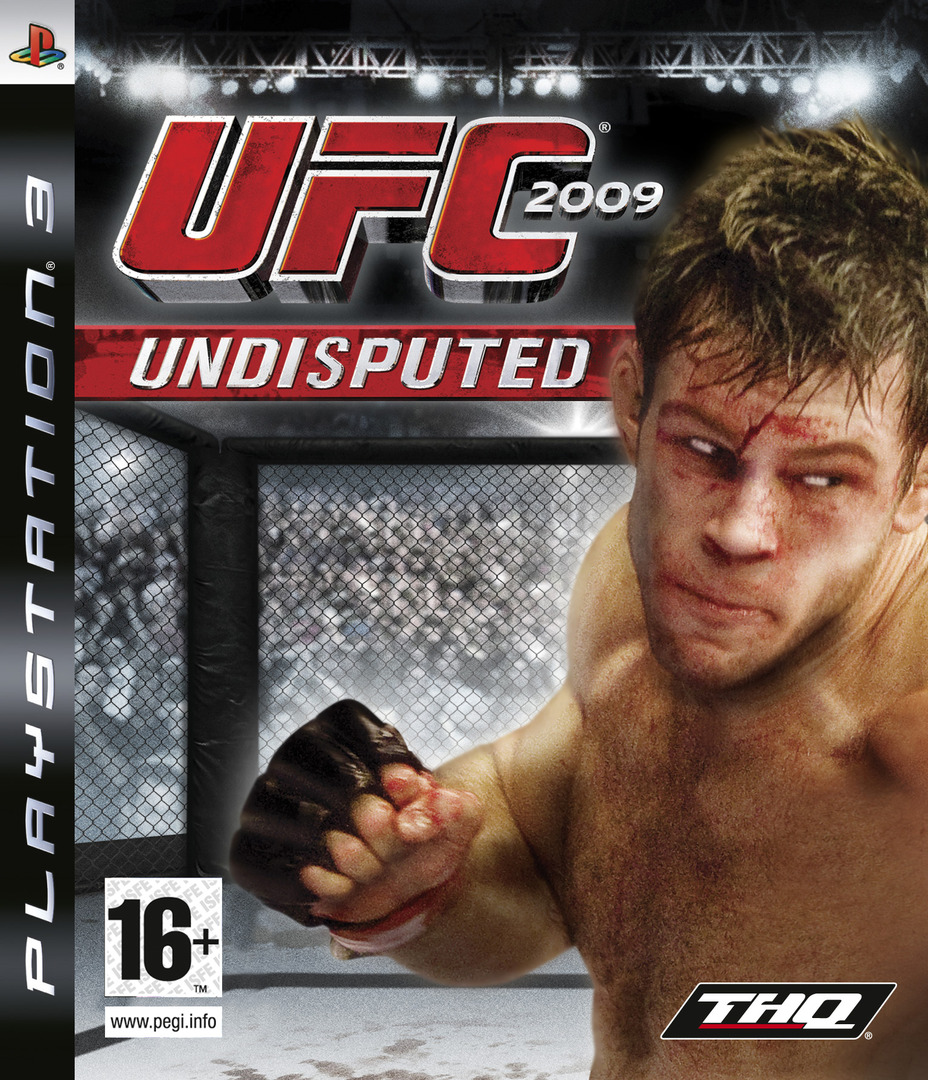 UFC 2009: Undisputed PS3 coverHQ (BLES00539)