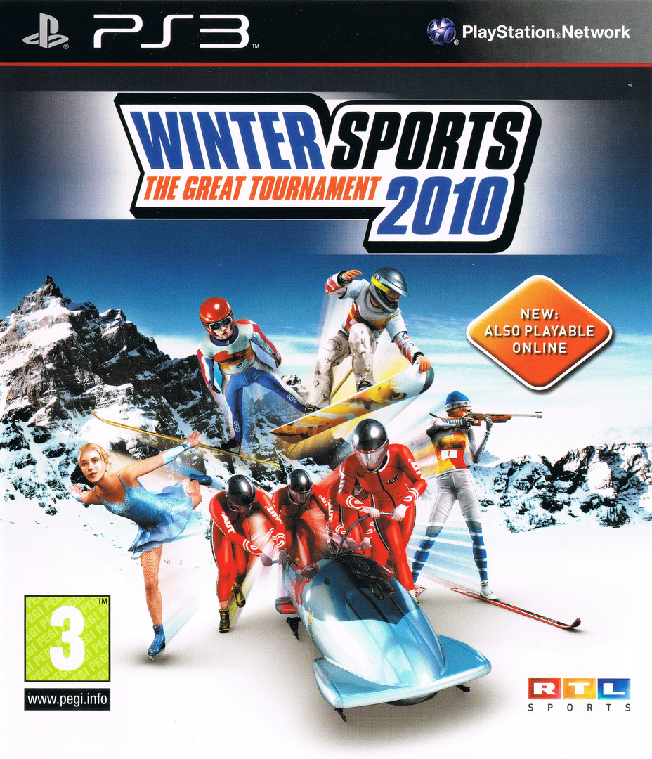 Winter Sports 2010: The Great Tournament PS3 coverHQ (BLES00600)