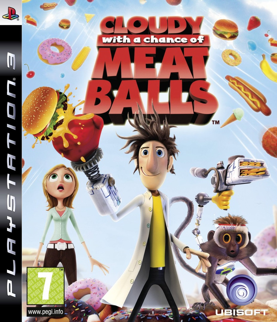 Cloudy with a Chance of Meatballs PS3 coverHQ (BLES00619)