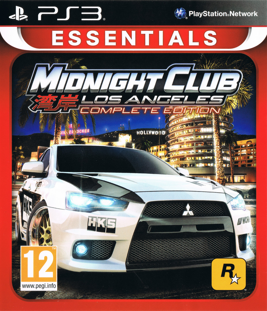 Midnight Club: Los Angeles - Complete Edition PS3 coverHQ (BLES00652)