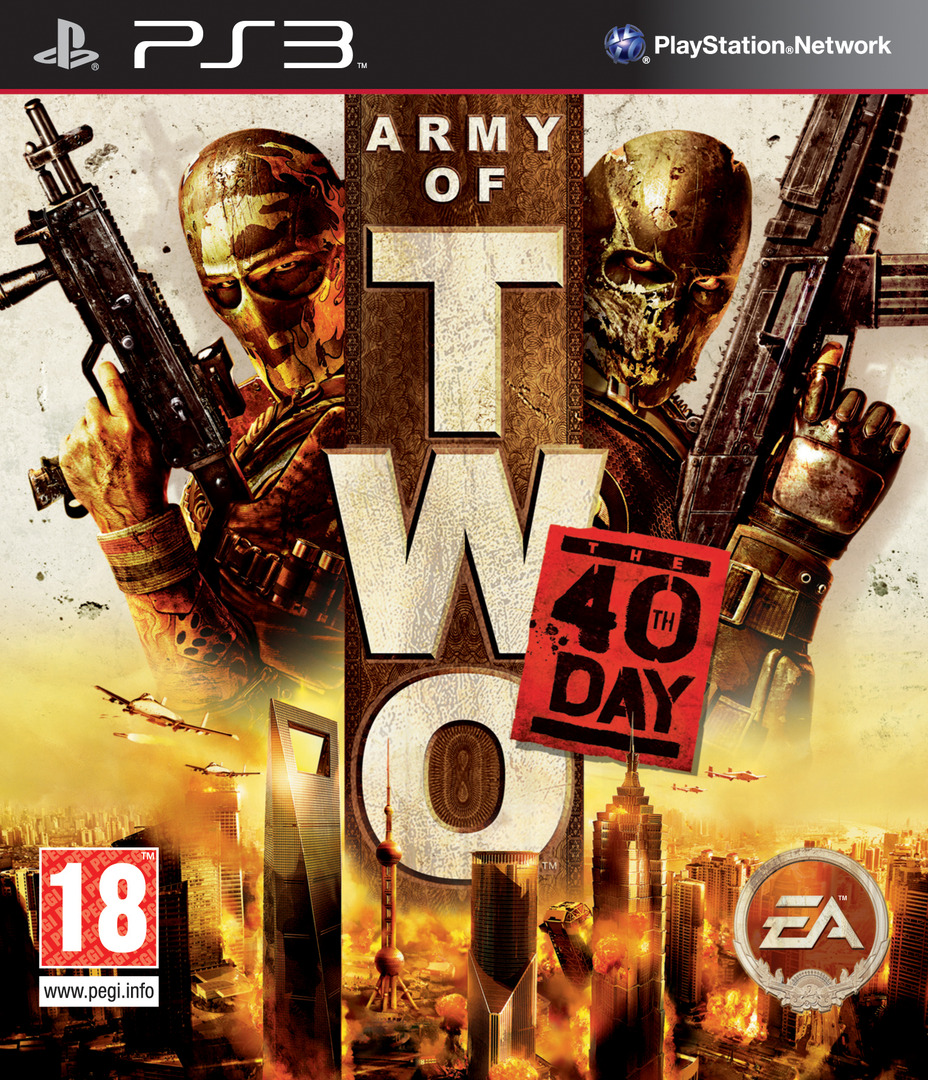 Army of Two: The 40th Day PS3 coverHQ (BLES00659)