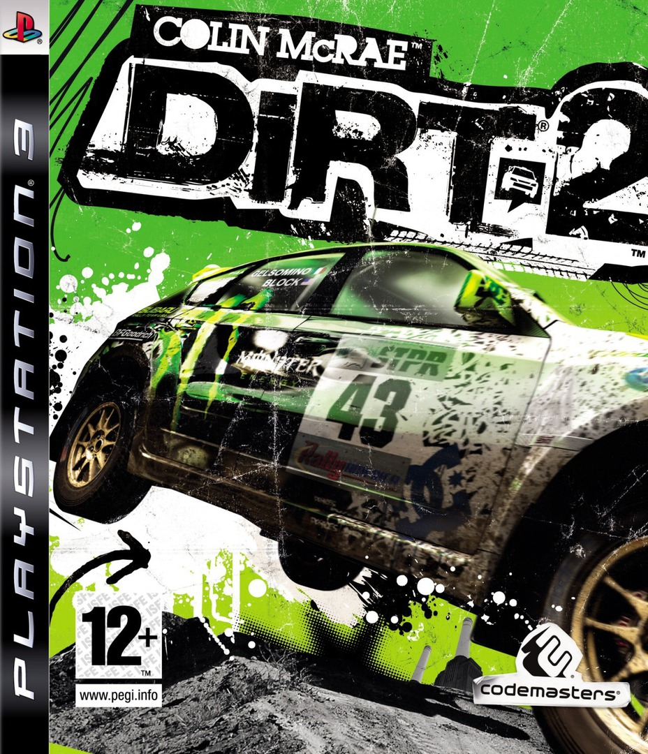 Colin McRae: DiRT 2 PS3 coverHQ (BLES00673)