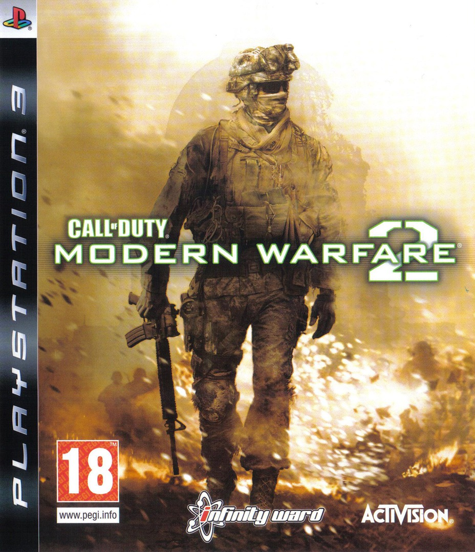 Call of Duty : Modern Warfare 2 Array coverHQ (BLES00687)