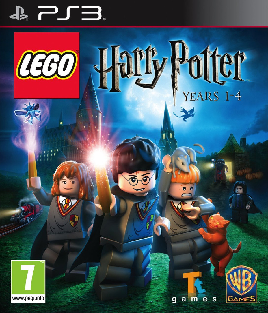 LEGO Harry Potter: Years 1-4 PS3 coverHQ (BLES00720)