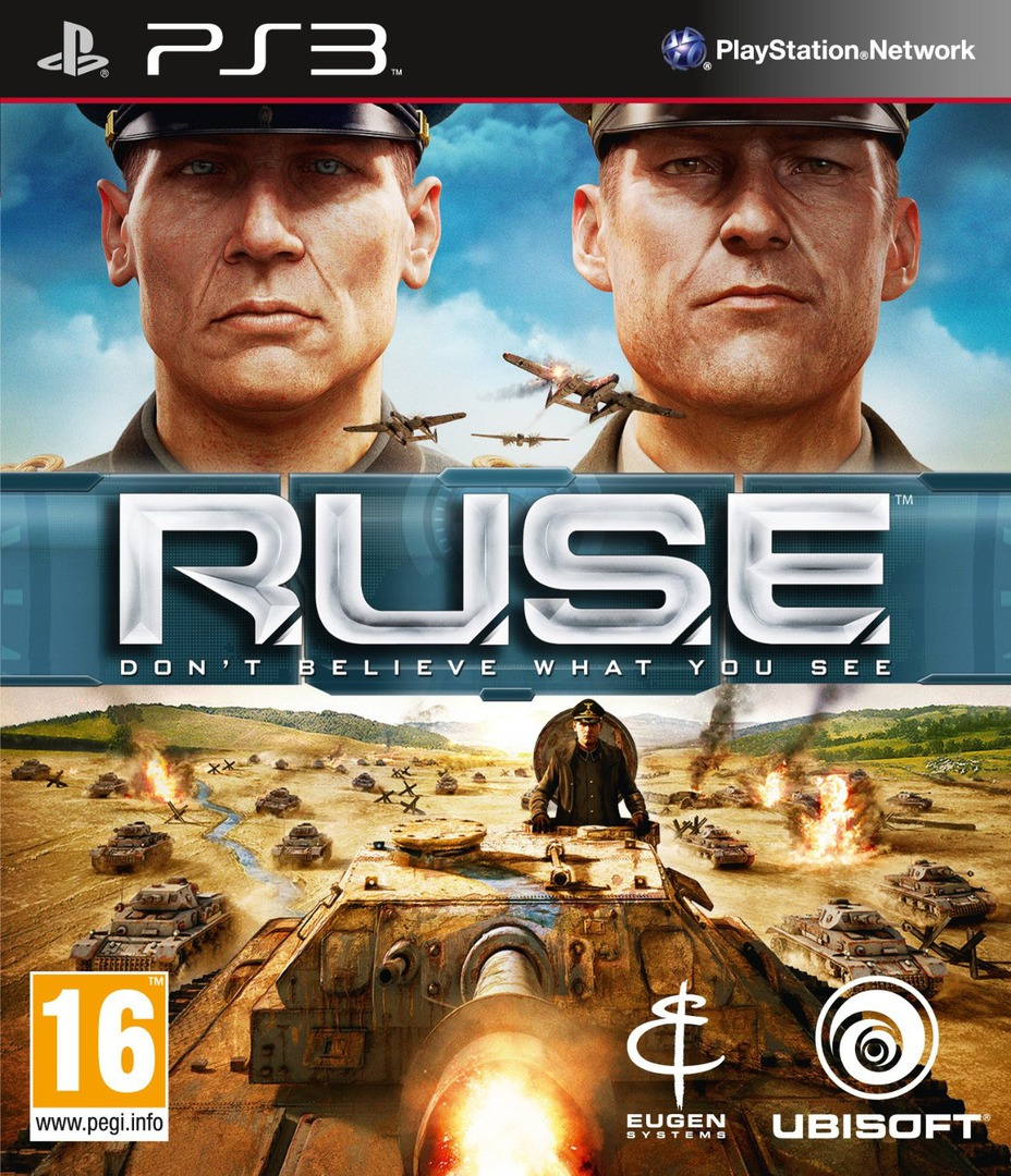 Ruse: Don't Believe What You See PS3 coverHQ (BLES00785)