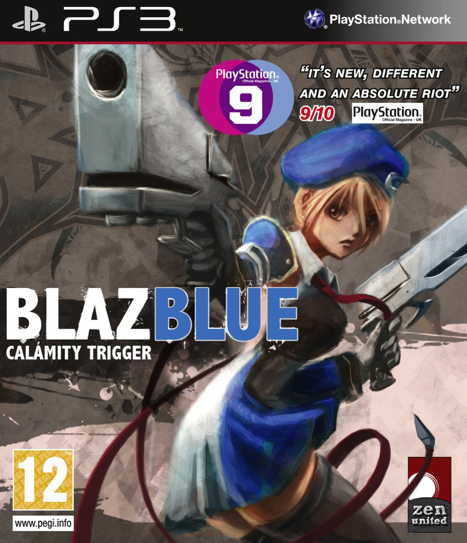 BlazBlue: Calamity Trigger PS3 coverHQ (BLES00820)