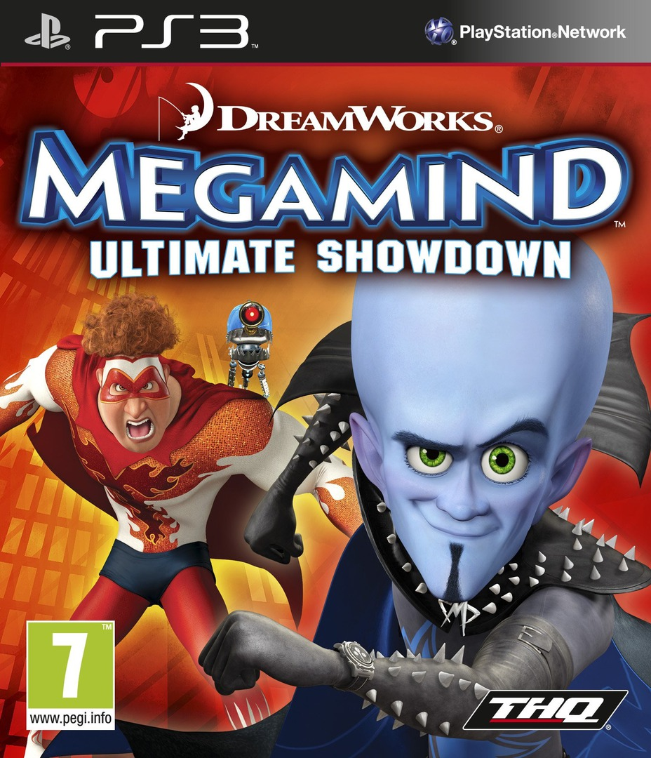 Megamind: Ultimate Showdown PS3 coverHQ (BLES00867)