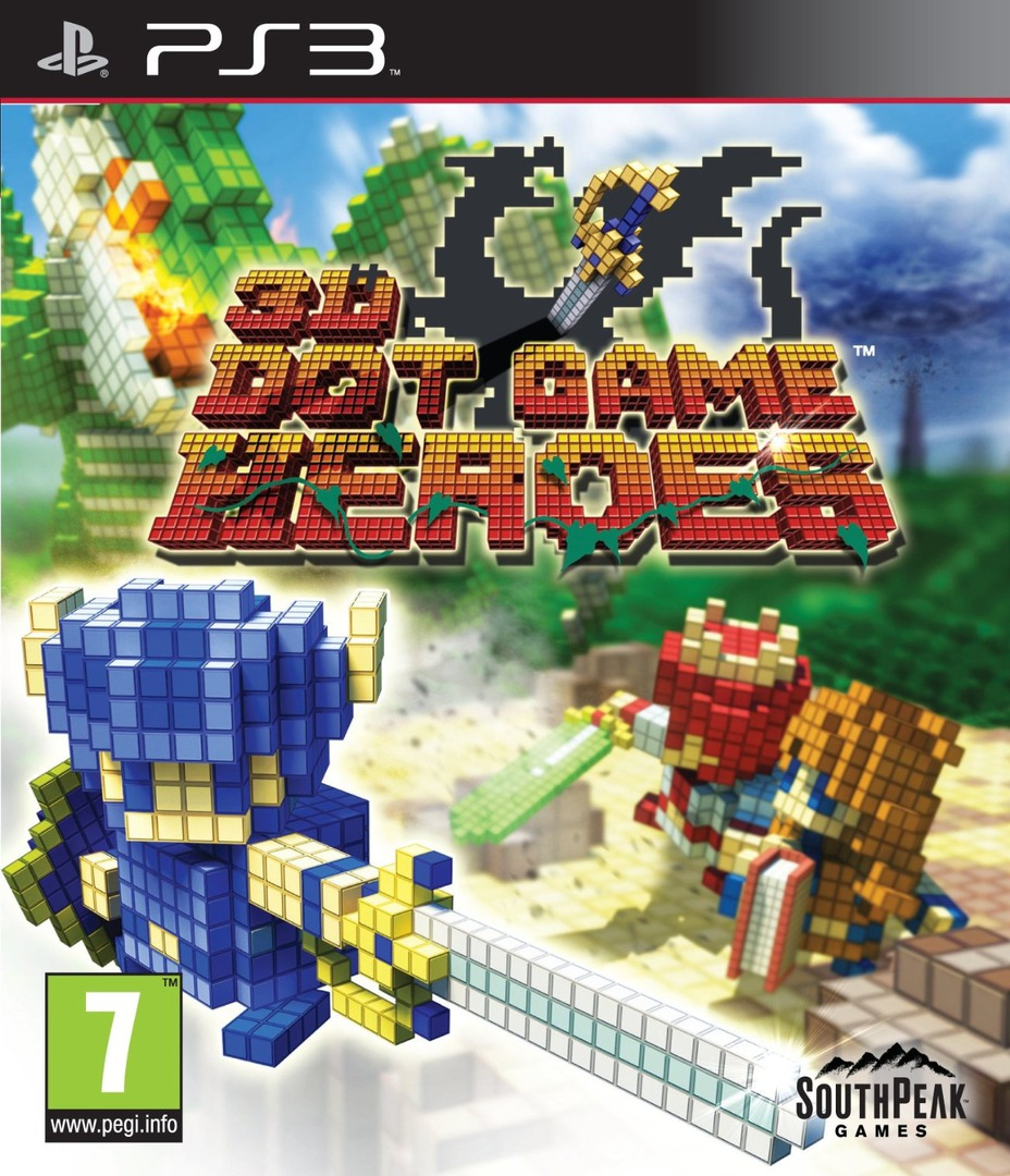3D Dot Game Heroes PS3 coverHQ (BLES00875)