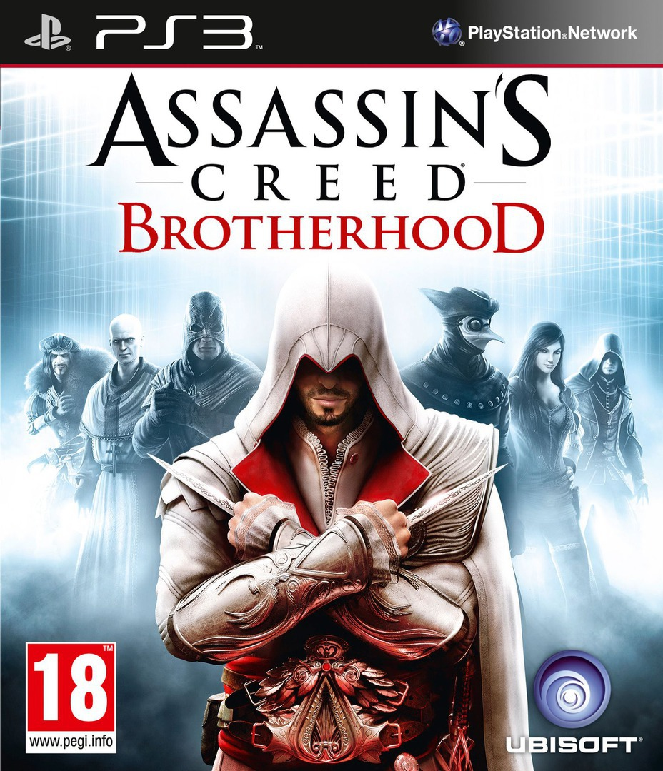 Assassin's Creed: Brotherhood PS3 coverHQ (BLES00910)